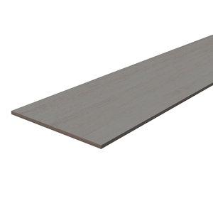 Image of Grey Oak effect Fully edged Chipboard Furniture board (L)0.8m (W)200mm (T)18mm