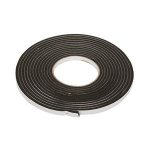 Diall Black Self-adhesive Draught seal (L)6m (W)9mm (T)5mm
