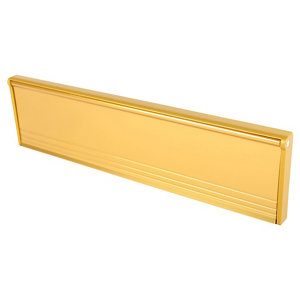 Image of Diall Gold Letterbox (W)292mm