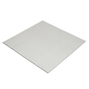 Image of Diall Aluminium & ethylene propylene diene monomer (EPDM) Acoustic insulation board (L)0.5m (W)0.5m (T)5mm Pack of 4