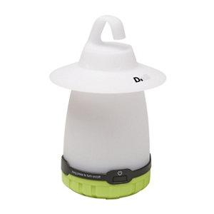 Image of Diall Plastic White Battery-powered LED Lantern