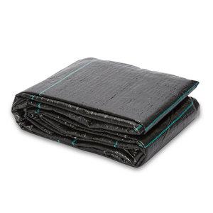 Verve Black Polypropylene Weed control fabric  (L)5m (W)5m