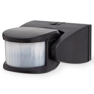 Image of Blooma Brant Black Mains-powered Wall lighting PIR Motion sensor