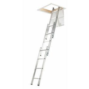 3 section 12 tread Tilt & turn right Loft Ladder