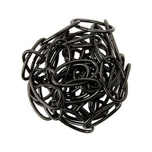 Image of Diall Decorative Black Steel Signalling Chain (L)1.5 (Dia)2.2mm