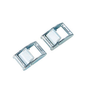 Image of Diall Zinc alloy Buckle (W)25mm Pack of 2