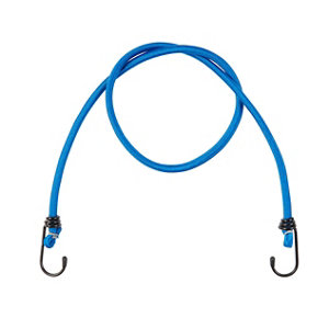 Image of Diall Blue Bungee with hook (L)1m