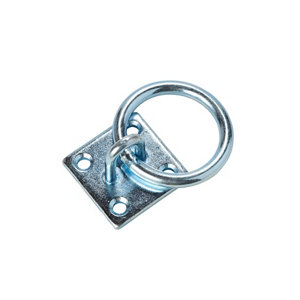 Image of Diall Zinc-plated Steel Ring on plate