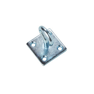 Image of Diall Zinc-plated Steel Hook on plate