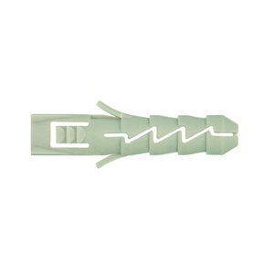 Image of Diall Nylon Wall plug (L)25mm (Dia)5mm Pack of 200
