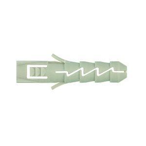 Image of Diall Nylon Wall plug (L)30mm (Dia)6mm Pack of 100