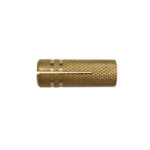 Image of Diall Brass Drop-in anchor (L)30mm Pack of 4