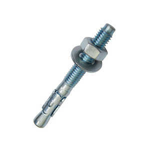 Image of Diall Steel Through bolt (L)120mm (Dia)10mm Pack of 4
