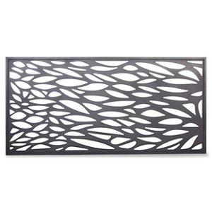 Image of Blooma Neva Decorative 1/2 Fence panel (W)1.79m (H)0.88m