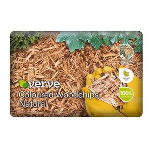 Verve Woodchip mulch 100L Bag