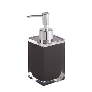 Image of Cooke & Lewis Capraia Black Gloss Soap dispenser