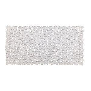 Image of Cooke & Lewis Batumi Transparent Polyvinyl chloride (PVC) Slip resistant Bath mat (L)700mm (W)355mm