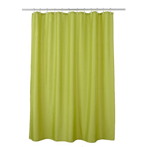 Image of Cooke & Lewis Diani Bamboo Shower curtain (L)1800mm