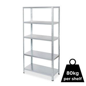 Image of Form Axial 5 shelf Steel Shelf unit