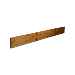 Image of Blooma Spruce Feather edge Fence board (L)1.8m (W)11mm (T)11mm Pack of 8