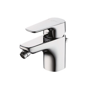 Image of Ideal Standard Tempo 1 lever Chrome effect Bidet Mixer Tap