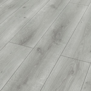 Image of Classen Grey Oak effect Laminate flooring 1.97m² Pack