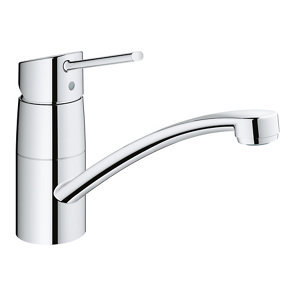 Grohe Swift Chrome effect Kitchen Top lever Tap