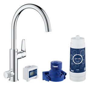 Image of Grohe Blue Pure Chrome effect Filtered hot & cold water tap