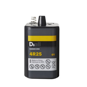Image of Diall Zinc carbon batteries Non-rechargeable 4R25 Battery