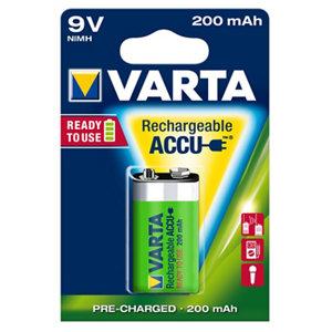 Image of Varta Rechargeable 9V Battery