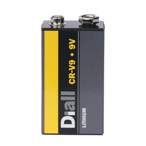 Image of Diall Lithium batteries Non rechargeable 9V E-Block Battery