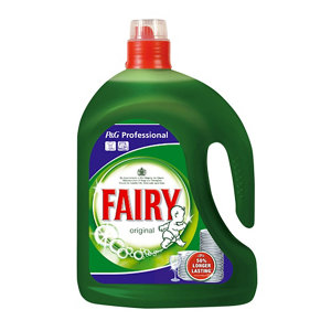 Image of Fairy Professional Unscented Washing up liquid 2.5L