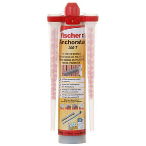 Image of Fischer 540039 3 piece Resin polyester Set 300ml