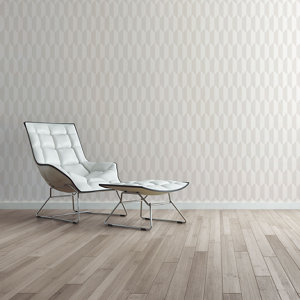 Image of As Creation Bjorn Beige & cream Geometric 3D effect Textured Wallpaper