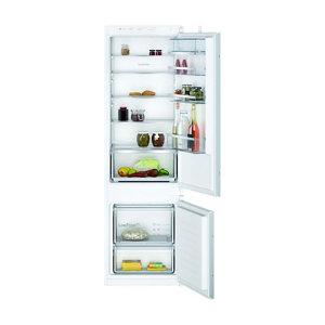 Neff KI5872SE0G 70:30 Classic White Integrated Fridge freezer