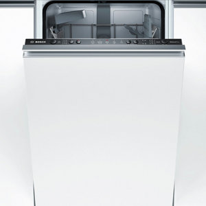 Bosch SPV25CX00G Integrated White Slimline Dishwasher