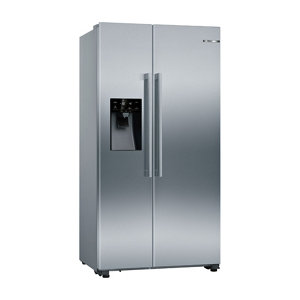 Bosch KAD93VIFPG American style Inox Freestanding Fridge freezer