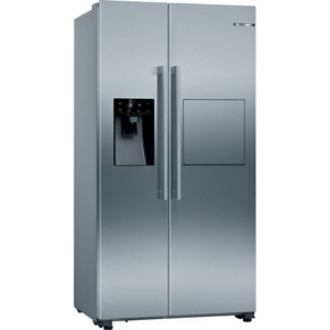 Bosch KAG93AIEPG American style Silver Freestanding Fridge freezer