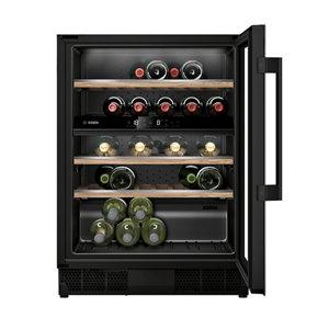 Bosch KUW21AHG0G Black 44 bottles Wine cooler