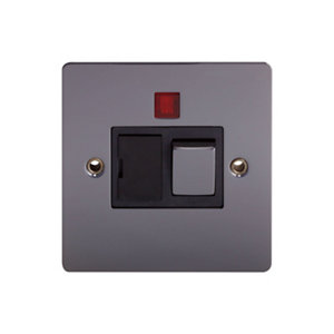 Image of Holder 13A Black Fused connection unit