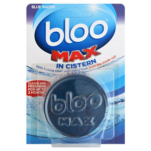 Image of Bloo Max Blue In-Cistern Unscented Toilet block