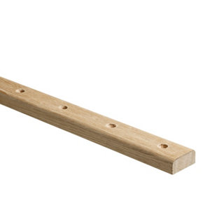 Image of Elements Modern Natural Oak Baserail (L)3.6m (W)60mm
