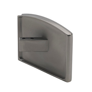 Image of Immix Handrail Polished Gun Metal Connector (L)93mm (H)55mm (W)75mm