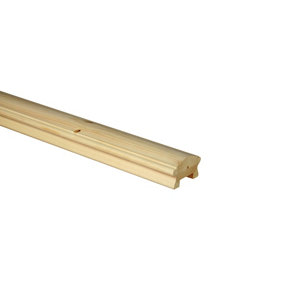 Image of Traditional Natural 32mm Handrail (L)3.6m (W)66mm