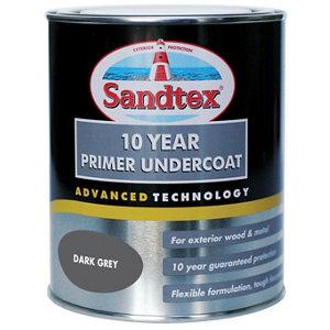 Sandtex Dark grey Metal & wood Undercoat  750ml