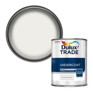Image of Dulux Trade Brilliant white Metal & wood Undercoat 1L