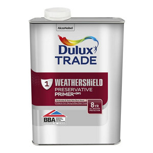 Image of Dulux Trade Clear Wood Primer 1L