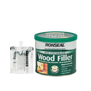 Ronseal High performance Natural Ready mixed Wood Filler 1kg