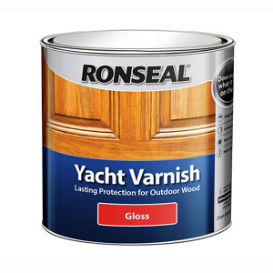 Ronseal Clear Gloss Wood varnish  1L
