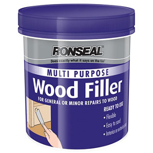 Ronseal Multi purpose Medium Ready mixed Wood Filler 250g